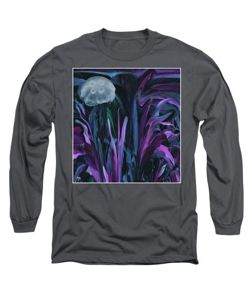 Adrift In The Mermaid Cafe Long Sleeve T-Shirt