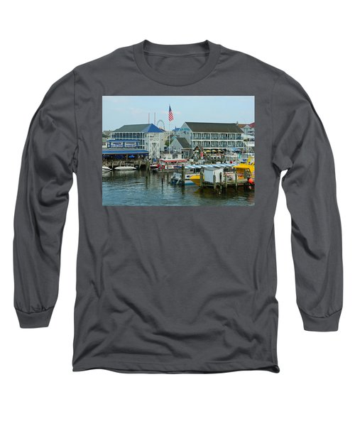 Adult Fun - Ocean City Md Long Sleeve T-Shirt by Emmy Marie Vickers