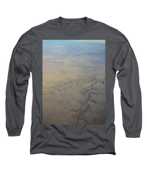 Long Sleeve T-Shirt featuring the photograph Aerial 2 by Steven Richman