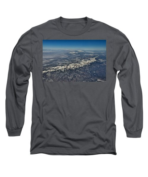 Long Sleeve T-Shirt featuring the photograph Aerial 3 by Steven Richman