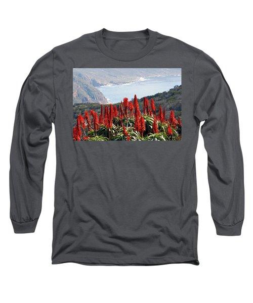 African Aloe And False Bay Long Sleeve T-Shirt