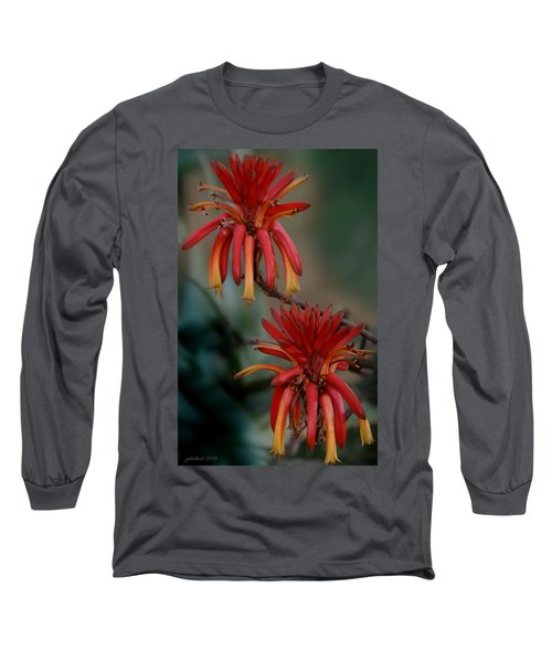 African Fire Lily Long Sleeve T-Shirt