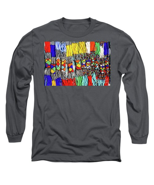 African Tribal Necklaces Long Sleeve T-Shirt