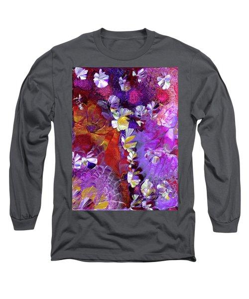 African Violet Awake #5 Long Sleeve T-Shirt