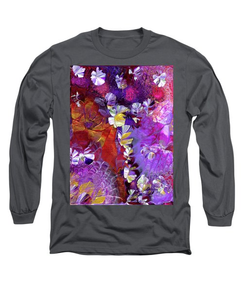 African Violet Awake #5 Long Sleeve T-Shirt