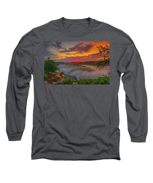After A Rainy Night.... Long Sleeve T-Shirt by Ulrich Burkhalter