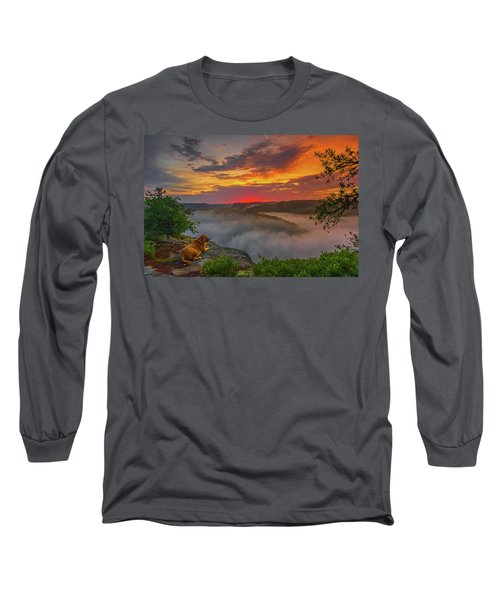 After A Rainy Night.... Long Sleeve T-Shirt
