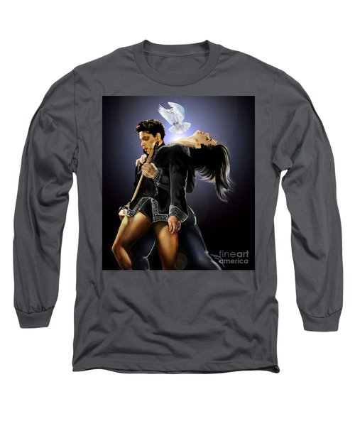 After Doves Cry They Fly Prince Long Sleeve T-Shirt