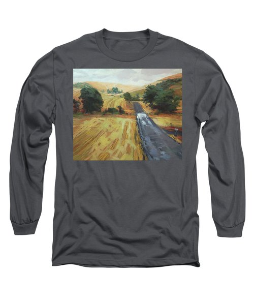 After The Harvest Rain Long Sleeve T-Shirt