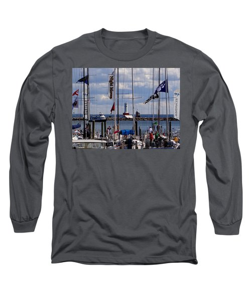 After The Race Long Sleeve T-Shirt by Keith Stokes