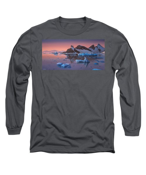 Afterglow Lemarie Channel Antarctica Long Sleeve T-Shirt