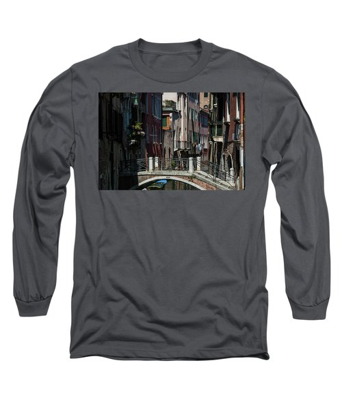 Long Sleeve T-Shirt featuring the photograph Afternoon In Venice by Alex Lapidus