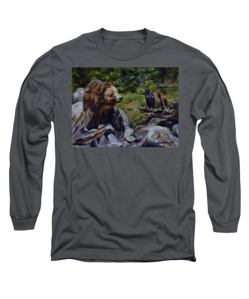 Afternoon Neigh-bear Long Sleeve T-Shirt