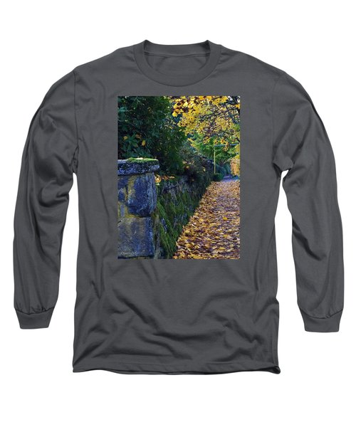 Afternoon Sidewalk  Long Sleeve T-Shirt