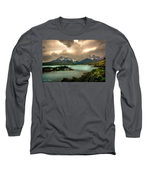 Long Sleeve T-Shirt featuring the photograph Afternoon Storm by Andrew Matwijec