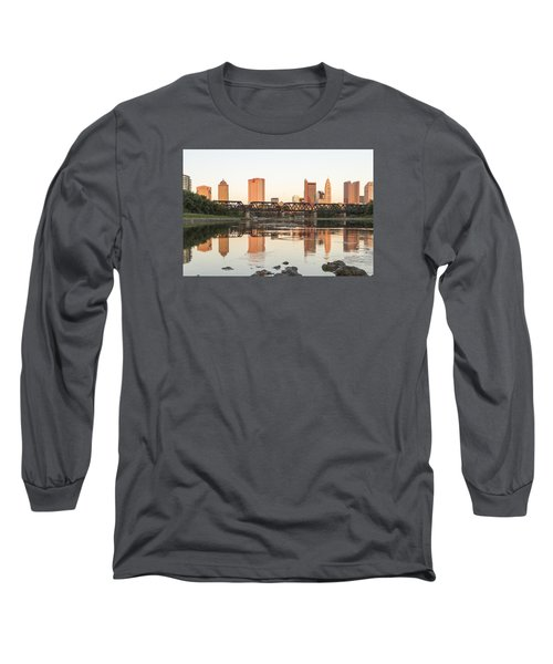 Afternoon Sun Columbus Long Sleeve T-Shirt by Alan Raasch