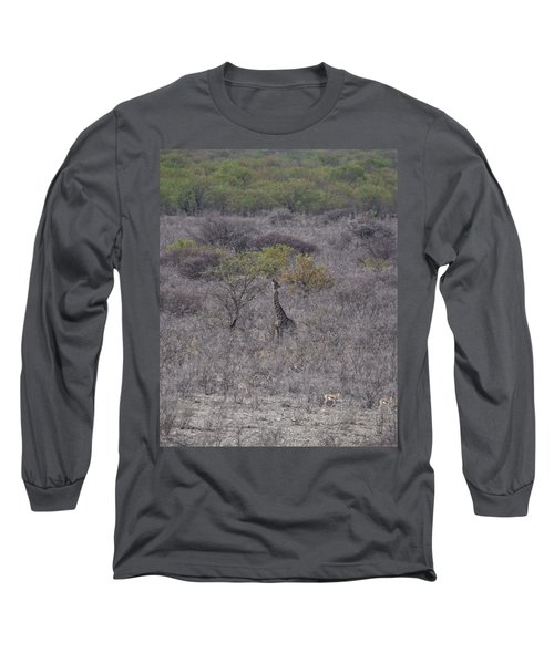 Afternoon Treat Long Sleeve T-Shirt by Ernie Echols