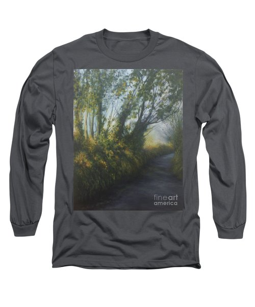 Afternoon Walk Long Sleeve T-Shirt by Valerie Travers