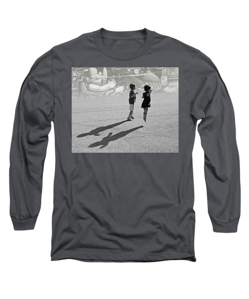Against Gravity Long Sleeve T-Shirt by Christopher McKenzie