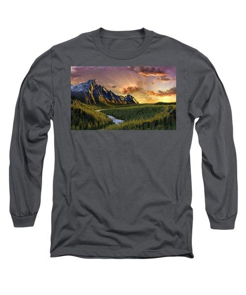 Against The Twilight Sky Long Sleeve T-Shirt