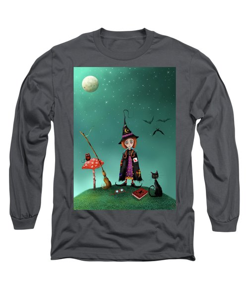 Agatha And Angus, Learning To Fly Long Sleeve T-Shirt