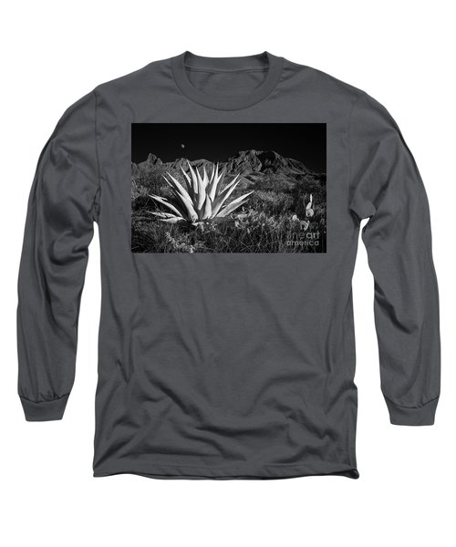 Agave And Moonrise Long Sleeve T-Shirt
