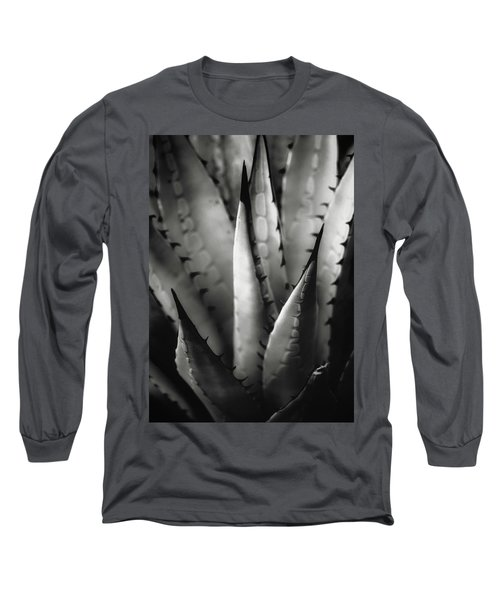 Agave And Patterns Long Sleeve T-Shirt by Eduard Moldoveanu