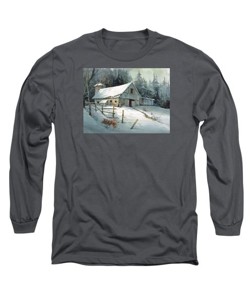 Ageless Beauty Long Sleeve T-Shirt by Michael Humphries