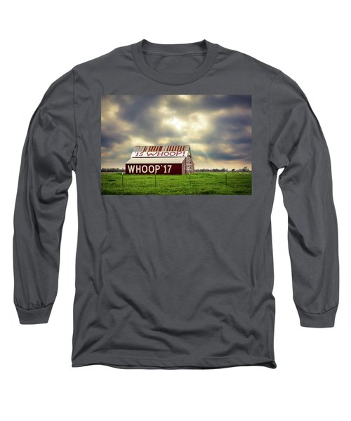 Long Sleeve T-Shirt featuring the photograph Aggie Barn by David Morefield