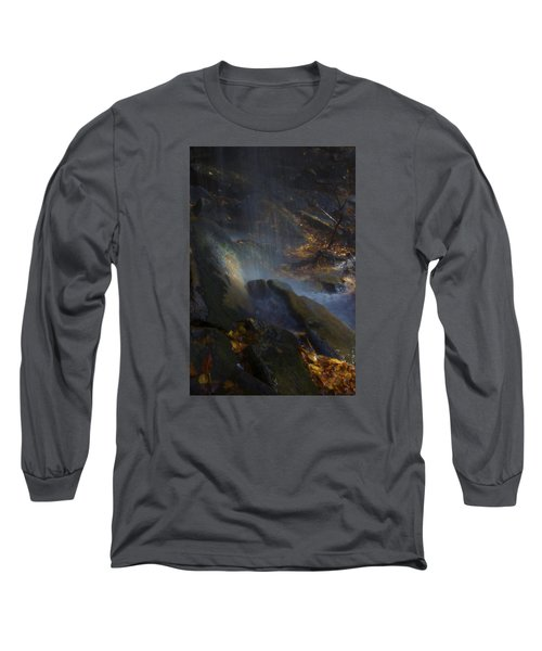 Long Sleeve T-Shirt featuring the photograph Aglow by Ellen Heaverlo