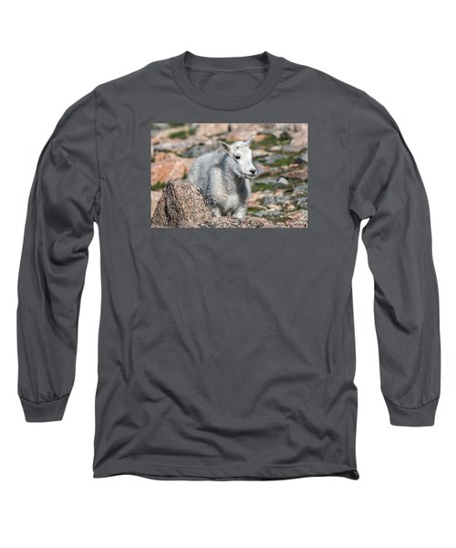 Ahhh Da Baby Long Sleeve T-Shirt by Stephen  Johnson