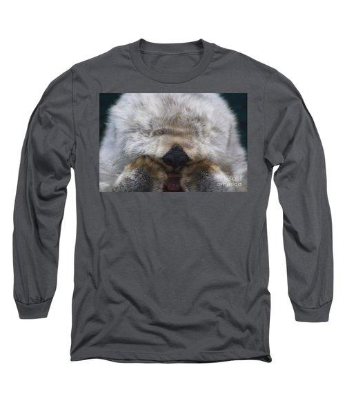 Long Sleeve T-Shirt featuring the photograph Ahhhhhhhh by Nick Gustafson