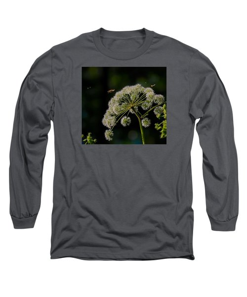 Long Sleeve T-Shirt featuring the photograph Airport by Leif Sohlman