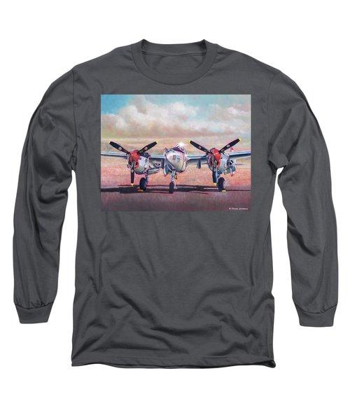 Airshow Lightning Long Sleeve T-Shirt