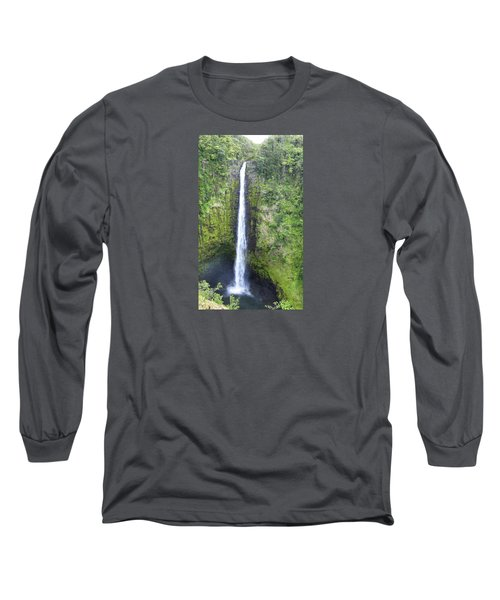 Akaka Falls Long Sleeve T-Shirt by Kerri Ligatich