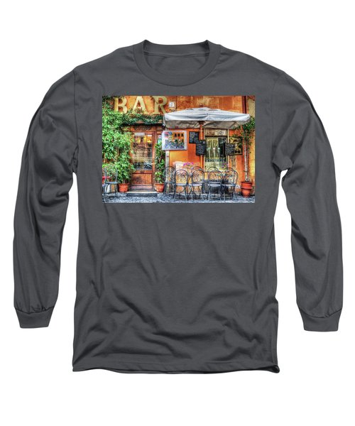 Long Sleeve T-Shirt featuring the photograph Al Fresco Dining by Bellesouth Studio