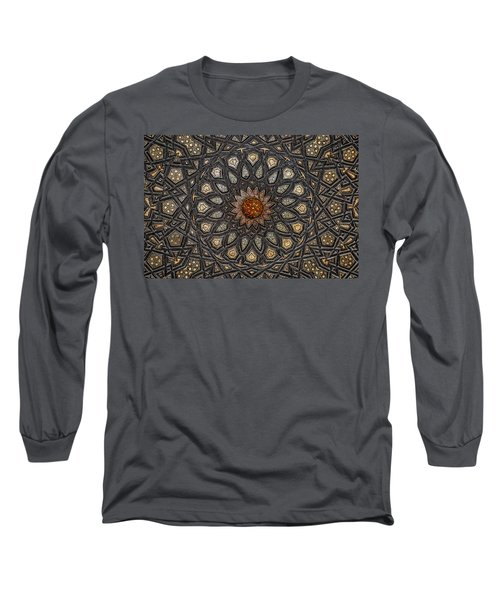 Al Ishaqi Wood Panel Long Sleeve T-Shirt