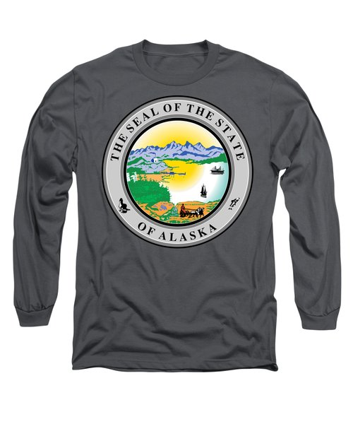 Alaska State Seal Long Sleeve T-Shirt