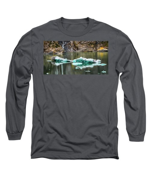 Alaskan Icebergs Long Sleeve T-Shirt