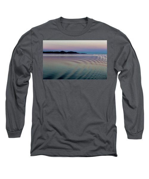 Alaskan Sunset At Sea Long Sleeve T-Shirt