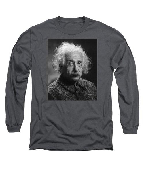 Albert Einstein, 1947. Age 68. Long Sleeve T-Shirt