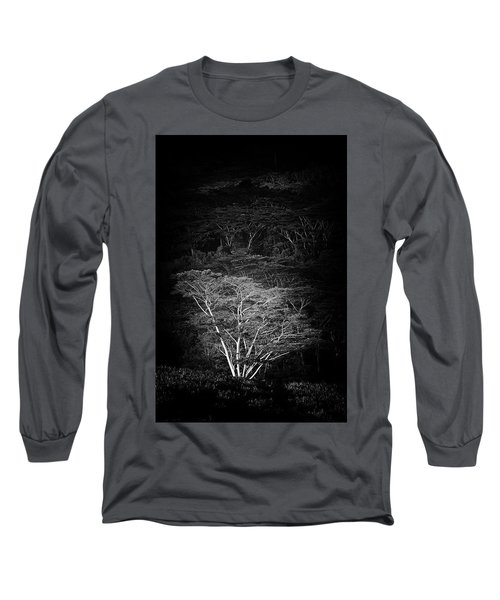 Long Sleeve T-Shirt featuring the photograph Albezia Tree by Roger Mullenhour