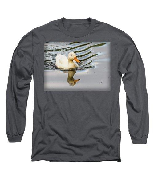 Albino Mallard Long Sleeve T-Shirt