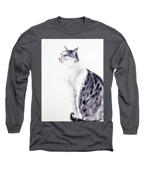 Alert Cat Long Sleeve T-Shirt