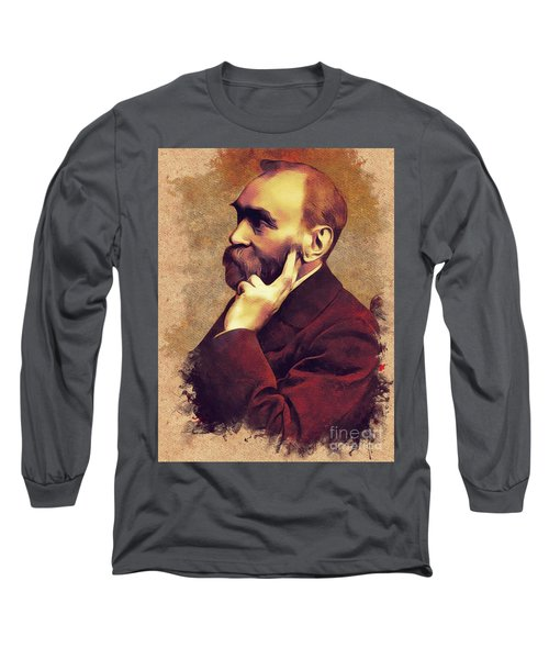 Alfred Nobel, Inventor Long Sleeve T-Shirt
