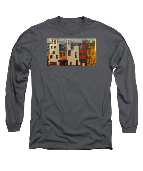 Long Sleeve T-Shirt featuring the painting Algiers by Don Koester