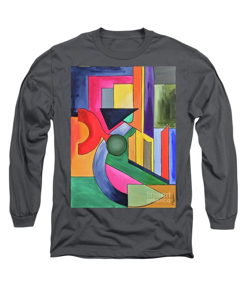Alhamdu-lillah-3 Long Sleeve T-Shirt