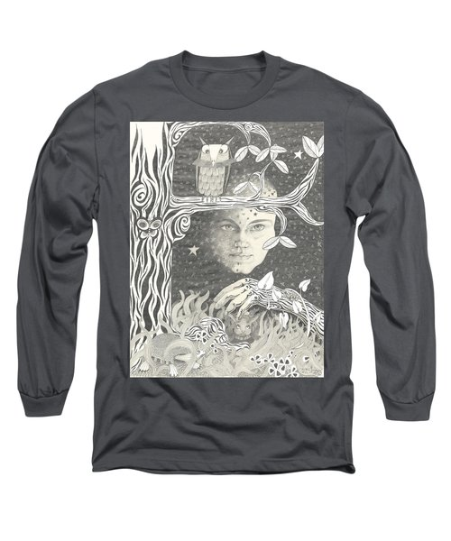 Alice Syndrome Long Sleeve T-Shirt by Melinda Dare Benfield