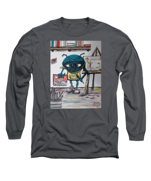 Alien Artist Long Sleeve T-Shirt