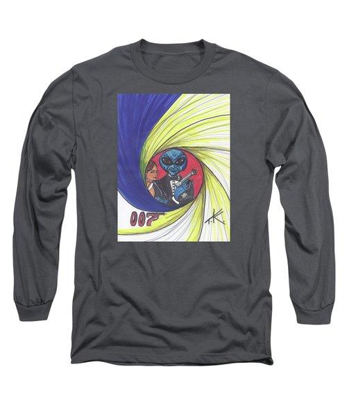 alien Bond Long Sleeve T-Shirt